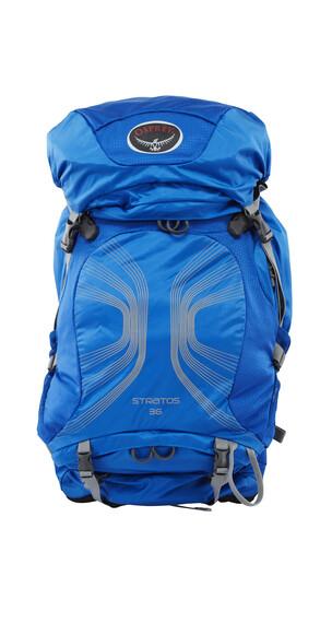 Osprey Stratos 36 wandelrugzak Heren maat M/L blauw